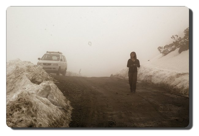 Misty day near Tawang