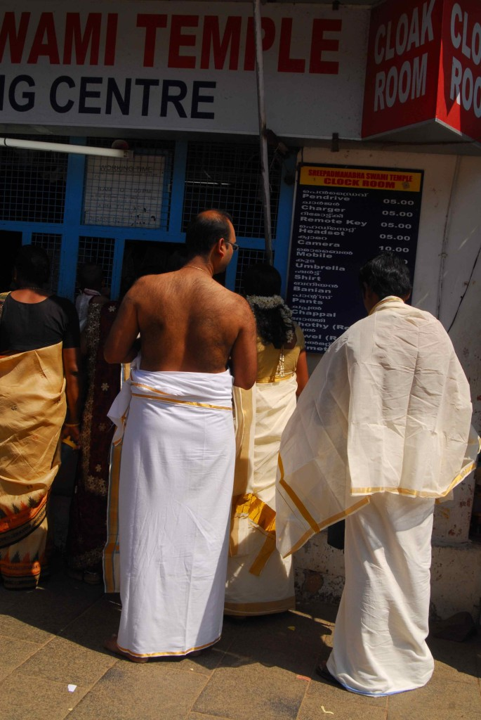 Men need to be dressed in a mundu and women in a saree to enter the temple. It is also only accessible to Hindus.